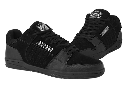 SIMPSON RACING BLACKTOP SHOES