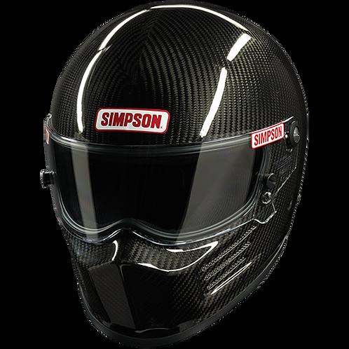 SA2020 SIMPSON RACING CARBON BANDIT HELMET