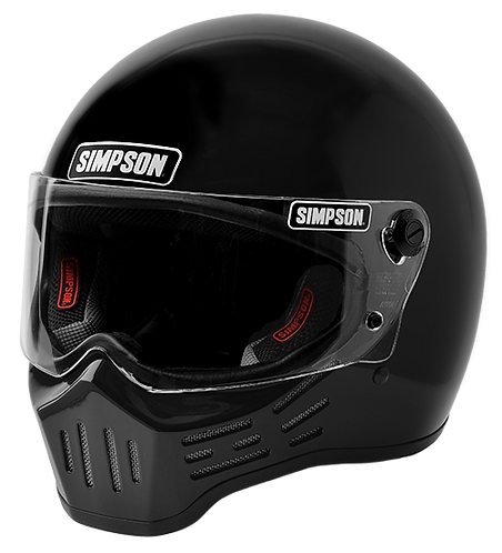 SIMPSON M30 MOTORCYCLE HELMET