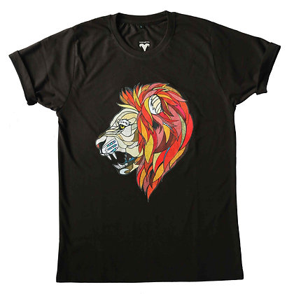 Roaring leader (Black - tees)