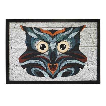 bird of night Coated Frame