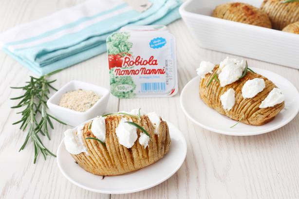 Patate al forno con intervalli di Robiol