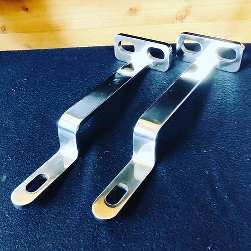 ISUZU ファイブスターギガ 低床用鏡面フォグランプステー左右セット