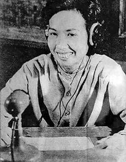 Hannoi Hannah broadcasting during Vietnam War