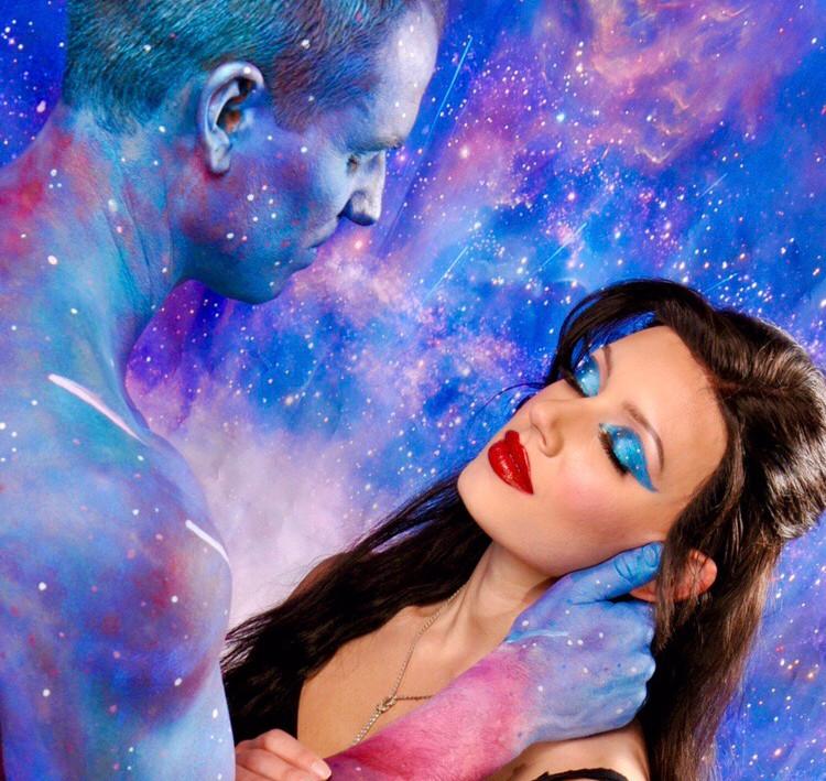 """Close your eyes, I got you"" - Universe"