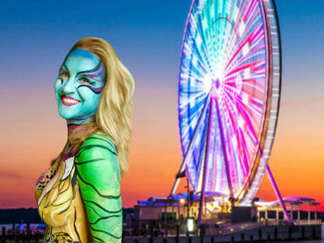 """Rainbow Ferris Wheel"""