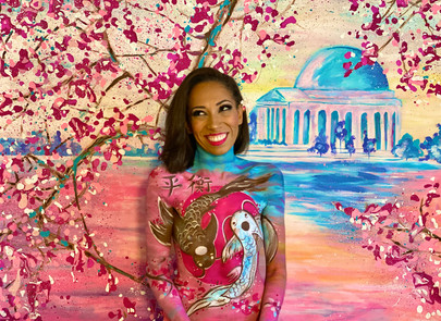 """""""Cherry Blossoms in DC"""""""