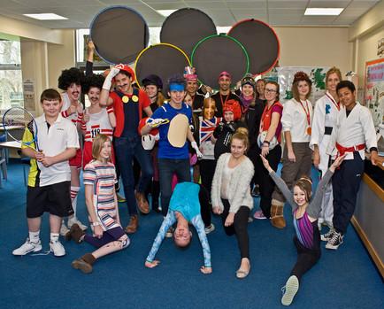 "Somervale School's Sport Relief Challenge ""Walks the World"" for World Book Week!"