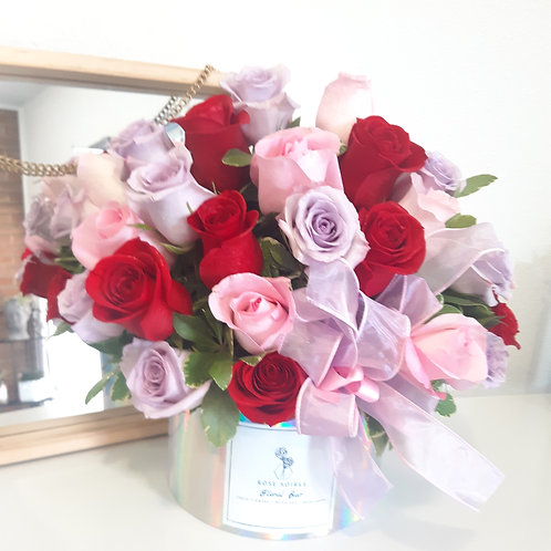 Crazy in love holographic Rose Box