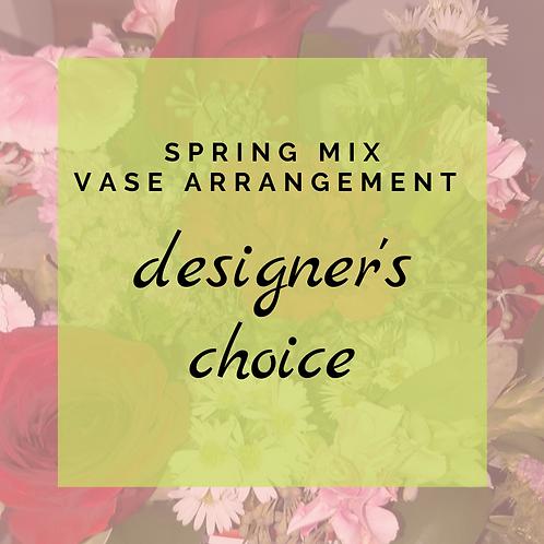 Designer's Choice Vase Arrangment
