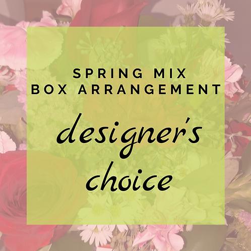 Designer's Choice Box of Blooms