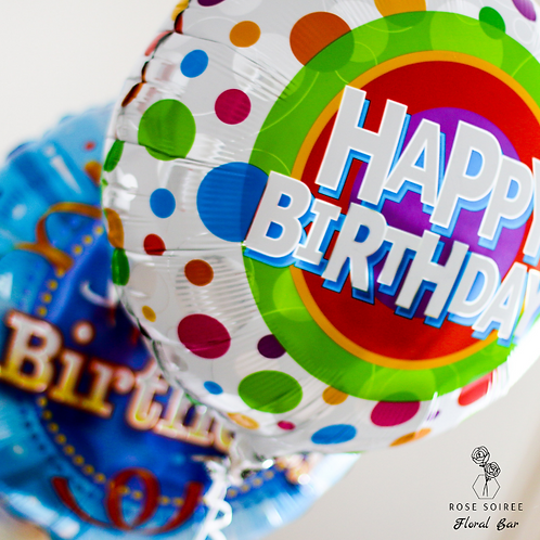 Foil Sentiment Balloons