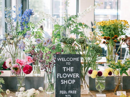 Pop Up Floral Shop We bring the blooms to you!
