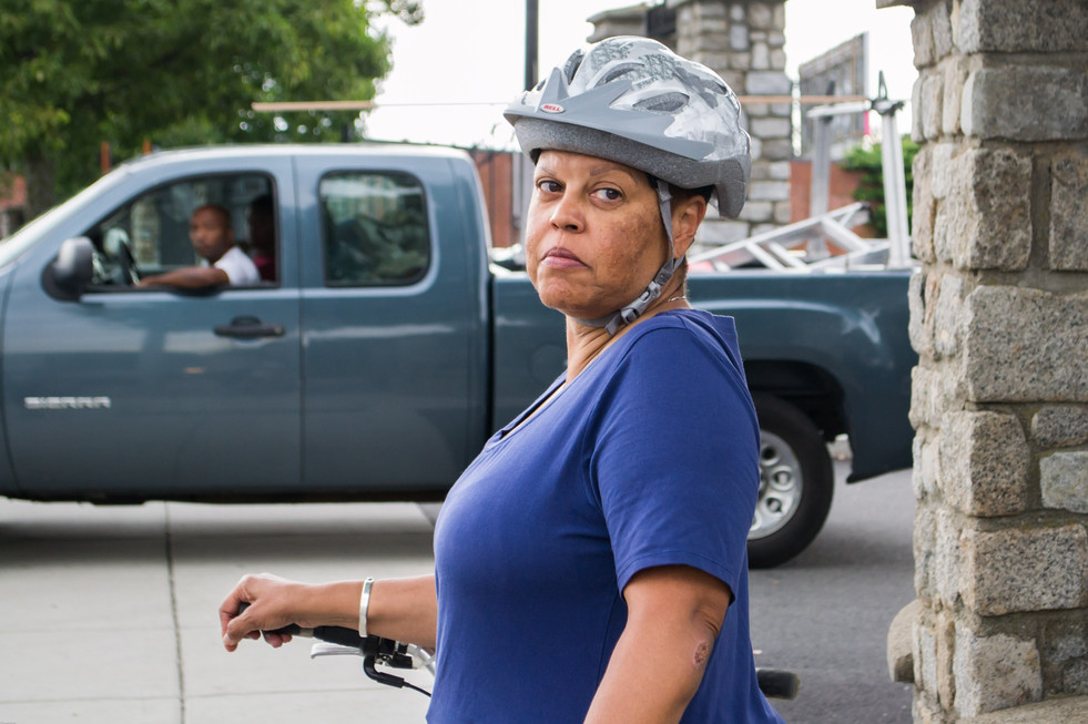 The underserved areas of Dorchester and Roxbury struggle for access to public transportation, and safe means of alternative and cheap modes like city bikes. Cyclists are often pushed to sideworks or be forced to ride on narrow or incomplete, rough, shared roads.