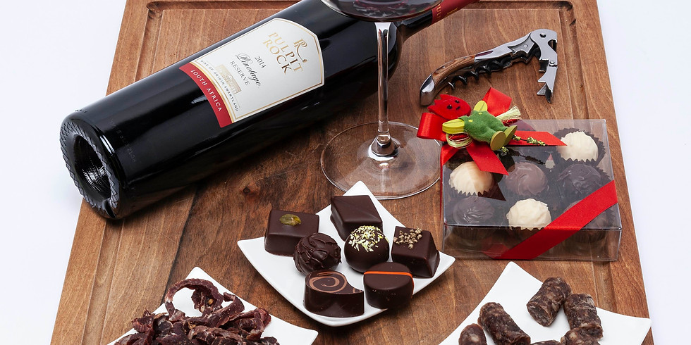 EVENT POSTPONED - South African Specialities & Chocolate - CHF 79.- pp