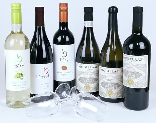 Virtual Tasting Pack - Mooiplaas Wines