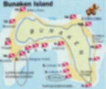 Snorkeling spots in Bunaken
