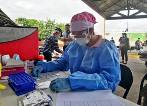 En Chiriquí se detectan 80 casos nuevos de COVID19