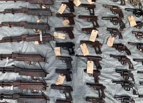 En 9 meses, 115 armas fueron decomisas en Chiriquí