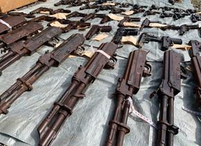 Destruyen más de mil armas en Chiriquí