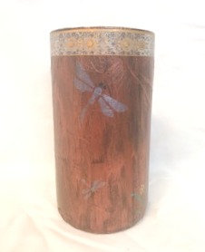 Decorative Vase 3 - Dragonflies