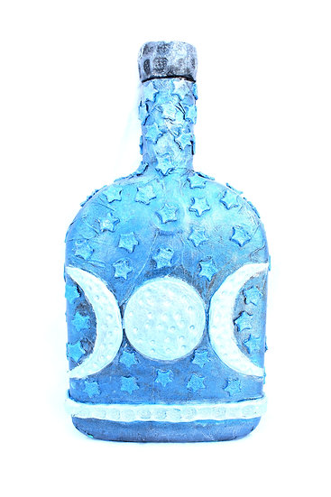 Decorative Bottle Moon and Stars