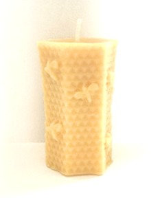 Beeswax Honeycomb Candle