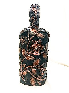 Decorative Bottle 3 -  Floral