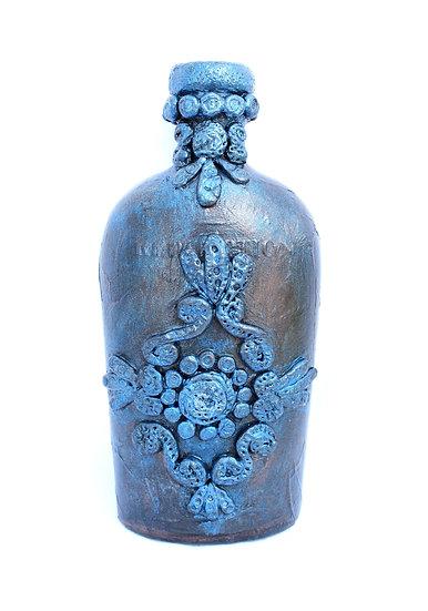 Decorative Bottle 2 - Fleur-De-Lis