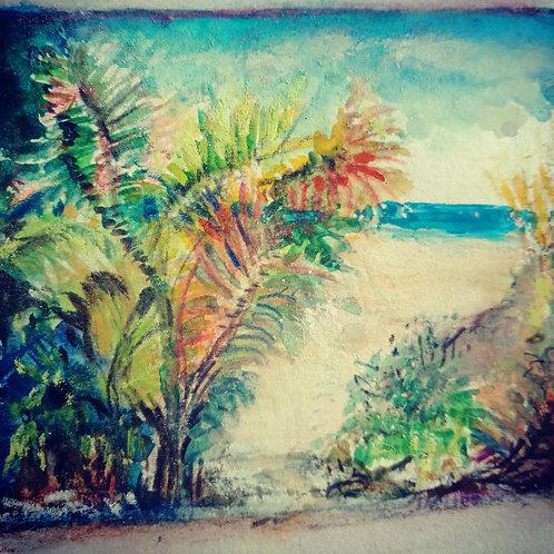 Paradise 1 small card