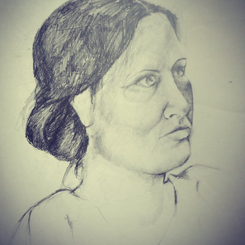 Portrait of a Woman 3/4 view