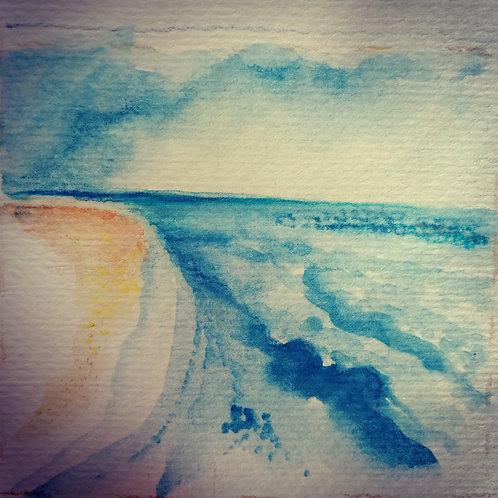 Sea and sky 2 small card