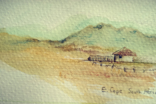 Eastern Cape Landscape 1 small card