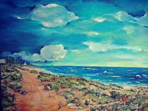 Largs Bay and Semaphore Beach o/c