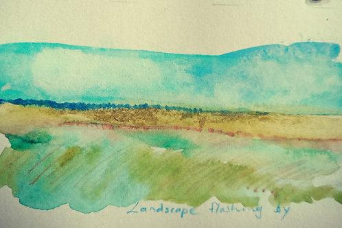 Yorkes landscape 2 small card