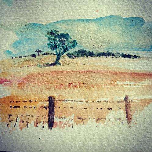 Yorkes landscape small card