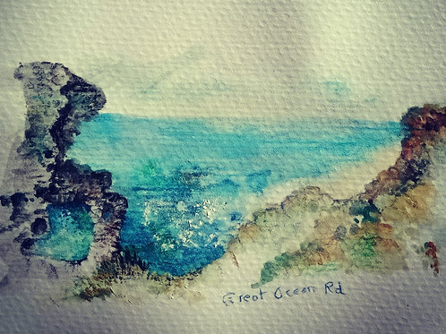 Great Ocean Road 1 small card