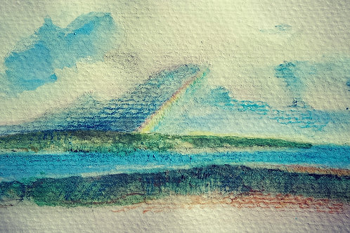Rainbow at Yorkes small card