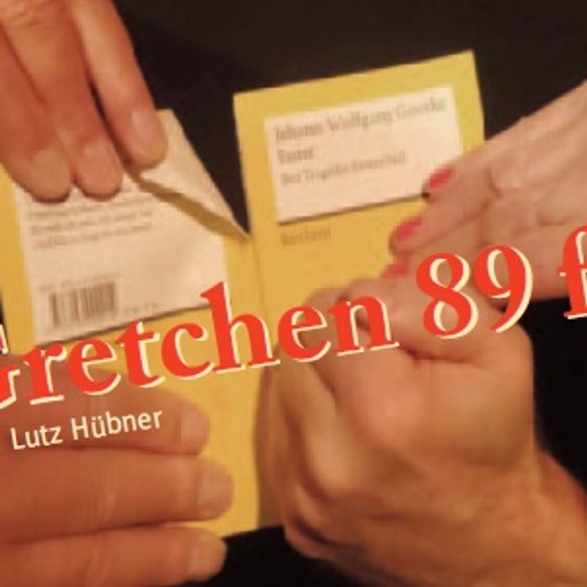"Odoroka-Theater: ""Gretchen 89 ff."""