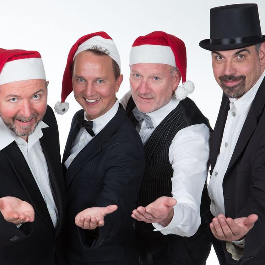 """Herrencreme: """"Vier Männer im Schnee"""""""