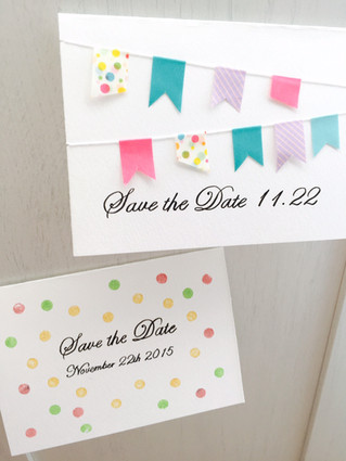 Save the Date ワークショップ ご案内♪