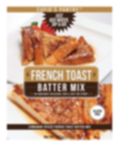 CUPID'S PANTRY Gluten Free French Toast Batter Mix