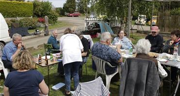repas du midi chez nos organisateurs