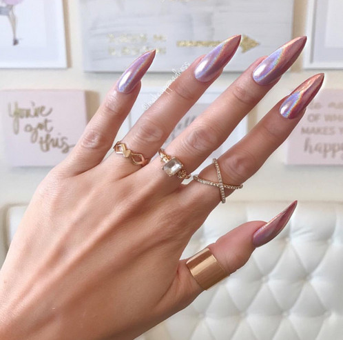 A Stunning Set Of False Nails PLEASE NOTE