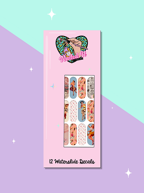 PIN UP GIRL Decals