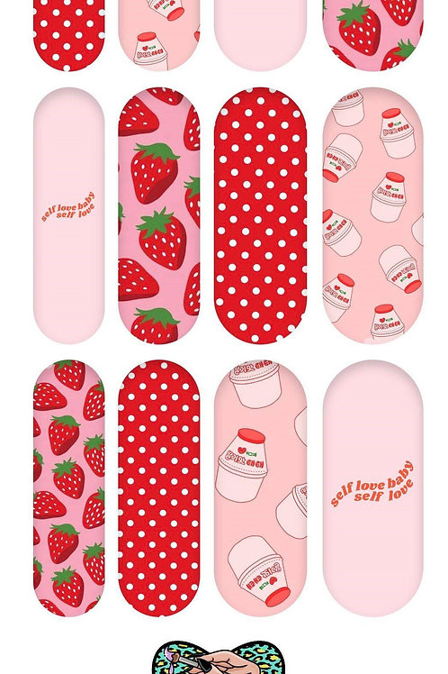 STRAWBERRY MILK Decals