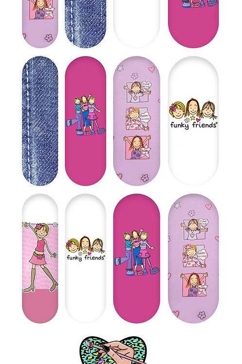 FUNKY FRIENDS Decals