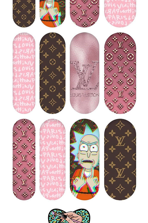 RICK AND MORTY LV Decals