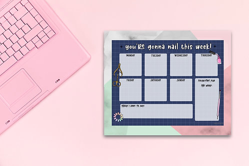 You're Gonna Nail This - Weeky Planner