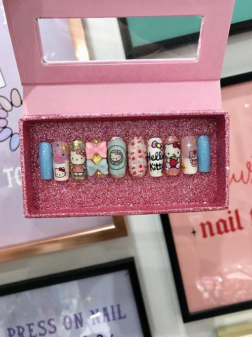 Hello Kitty False Nails